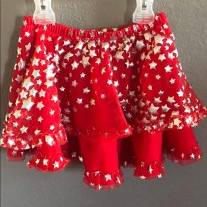 Other - Girl's Fourth Of July Themed Red Skirt
